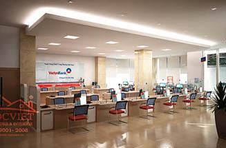 Nội Thất Văn Phòng Viettin Bank Chi Nhánh 7 - Bình Thạnh