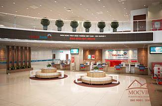 Nội Thất Văn Phòng Viettin Bank Miền Nam